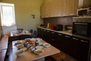 Кухня в РЦ Рыбальче